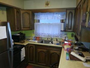 Kitchen Remodel Before Avery Enterprises